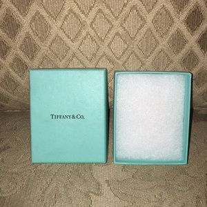 Tiffany and co jewelry box